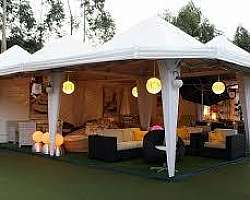 Tenda para eventos preço aluguel